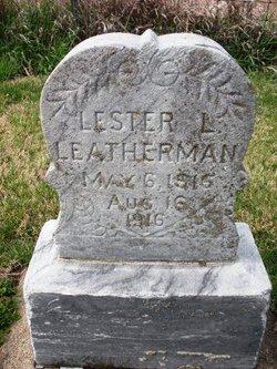 LEATHERMAN, LESTER L. - Mahaska County, Iowa | LESTER L. LEATHERMAN