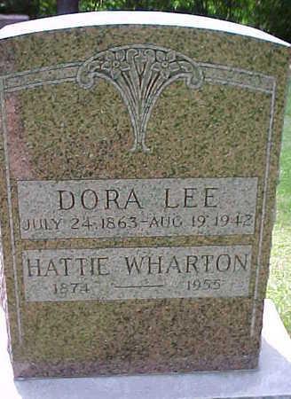 LEE, DORA - Mahaska County, Iowa | DORA LEE