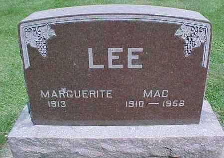 LEE, MAC - Mahaska County, Iowa   MAC LEE