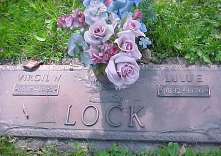 WOLFE LOCK, LULU E. - Mahaska County, Iowa | LULU E. WOLFE LOCK
