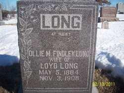 FINDLEY LONG, OLLIE MAUDE - Mahaska County, Iowa | OLLIE MAUDE FINDLEY LONG