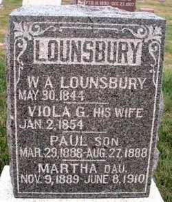 LOUNSBURY, MARTHA - Mahaska County, Iowa | MARTHA LOUNSBURY