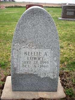 LOWRY, NELLIE A. - Mahaska County, Iowa | NELLIE A. LOWRY