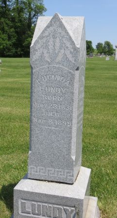 LUNDY, LUCINDA - Mahaska County, Iowa | LUCINDA LUNDY