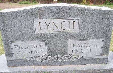 LYNCH, HAZEL H. - Mahaska County, Iowa | HAZEL H. LYNCH