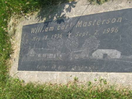 MASTERSON, WILLIAM EARL - Mahaska County, Iowa | WILLIAM EARL MASTERSON