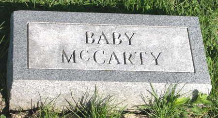 MCCARTY, BABY - Mahaska County, Iowa | BABY MCCARTY