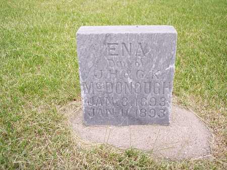 MCDONOUGH, ENA - Mahaska County, Iowa | ENA MCDONOUGH
