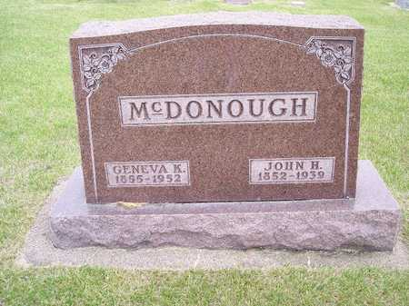 MCDONOUGH, GENEVA K. - Mahaska County, Iowa | GENEVA K. MCDONOUGH