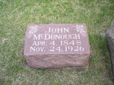 MCDONOUGH, JOHN - Mahaska County, Iowa | JOHN MCDONOUGH