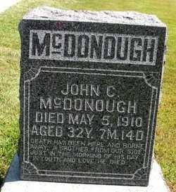 MCDONOUGH, JOHN C. - Mahaska County, Iowa   JOHN C. MCDONOUGH