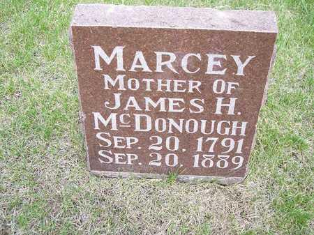 MCDONOUGH, MARCEY - Mahaska County, Iowa | MARCEY MCDONOUGH