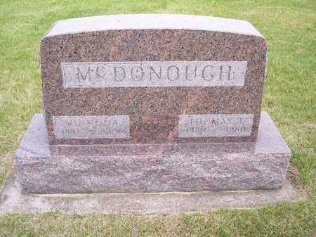 MCDONOUGH, WINNONA - Mahaska County, Iowa | WINNONA MCDONOUGH