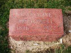 MCDOWELL, CAROLINE - Mahaska County, Iowa   CAROLINE MCDOWELL