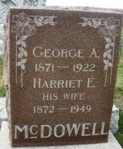 MDDOWELL, HARRIET E. - Mahaska County, Iowa | HARRIET E. MDDOWELL