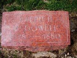 MCDOWELL, RALPH H. - Mahaska County, Iowa | RALPH H. MCDOWELL