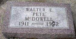 MCDOWELL, WALTER E. - Mahaska County, Iowa | WALTER E. MCDOWELL
