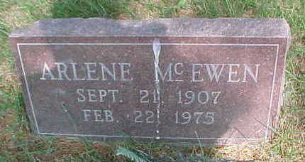 MCEWEN, ARLENE - Mahaska County, Iowa | ARLENE MCEWEN