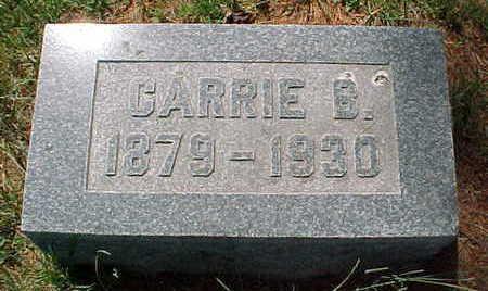 MCEWEN, CARRIE B. - Mahaska County, Iowa | CARRIE B. MCEWEN