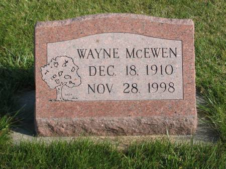 MCEWEN, WAYNE - Mahaska County, Iowa | WAYNE MCEWEN