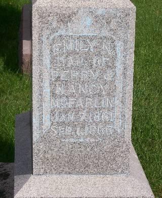 MCFARLIN, EMILY N. - Mahaska County, Iowa | EMILY N. MCFARLIN