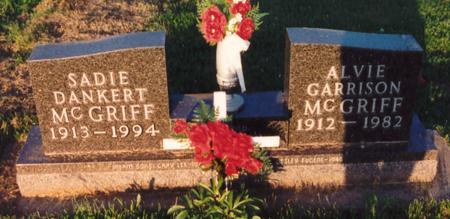 MCGRIFF, ALVIE - Mahaska County, Iowa | ALVIE MCGRIFF