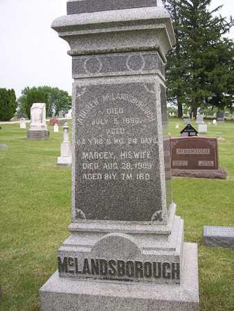 MCLANDSBOROUGH, ANDREW - Mahaska County, Iowa | ANDREW MCLANDSBOROUGH