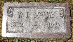 MCVAY, W.E. - Mahaska County, Iowa | W.E. MCVAY