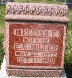 MILLER, MELISSA E. - Mahaska County, Iowa | MELISSA E. MILLER