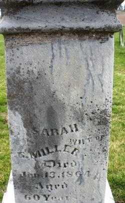 MILLER, SARAH - Mahaska County, Iowa | SARAH MILLER
