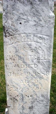 MITCHELL, HARRIET - Mahaska County, Iowa | HARRIET MITCHELL
