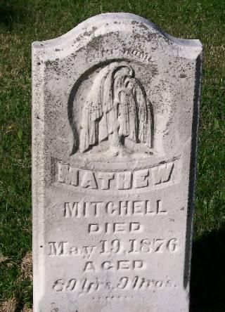 MITCHELL, MATHEW - Mahaska County, Iowa | MATHEW MITCHELL