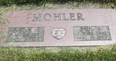 MOHLER, PAUL E - Mahaska County, Iowa | PAUL E MOHLER