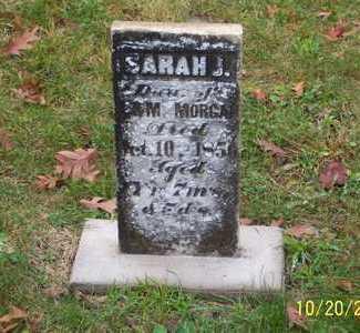 MORGAN, SARAH J. - Mahaska County, Iowa | SARAH J. MORGAN