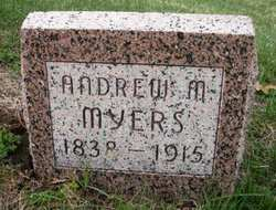 MYERS, ANDREW M. - Mahaska County, Iowa   ANDREW M. MYERS