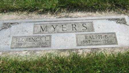 MYERS, RALPH B - Mahaska County, Iowa | RALPH B MYERS