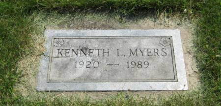 MYERS, KENNETH L - Mahaska County, Iowa | KENNETH L MYERS