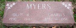 MYERS, CHARLES - Mahaska County, Iowa | CHARLES MYERS