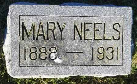 NEELS, MARY - Mahaska County, Iowa | MARY NEELS
