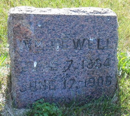 NEWELL, WILLIAM M. - Mahaska County, Iowa   WILLIAM M. NEWELL