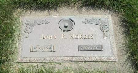 NORRIS, JOHN E - Mahaska County, Iowa | JOHN E NORRIS