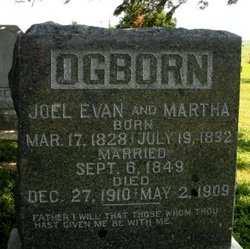 OGBORN, MARTHA - Mahaska County, Iowa | MARTHA OGBORN