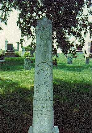 HUMPHREYS ORRILL, LUCINDA JANE - Mahaska County, Iowa | LUCINDA JANE HUMPHREYS ORRILL