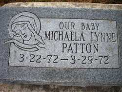 PATTON, MICHAELA LYNNE - Mahaska County, Iowa | MICHAELA LYNNE PATTON