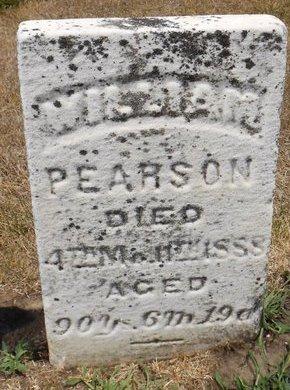 PEARSON, WILLIAM - Mahaska County, Iowa | WILLIAM PEARSON