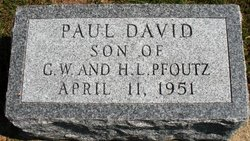 PFOUTZ, PAUL DAVID - Mahaska County, Iowa | PAUL DAVID PFOUTZ