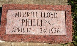 PHILLIPPS, MERRILL LLOYD - Mahaska County, Iowa | MERRILL LLOYD PHILLIPPS