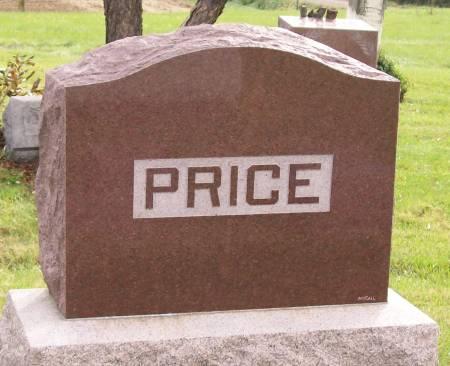 PRICE, FAMILY - Mahaska County, Iowa | FAMILY PRICE