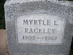 RACKLEY, MYRTLE L. - Mahaska County, Iowa | MYRTLE L. RACKLEY