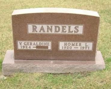 RANDELS, HOMER L. - Mahaska County, Iowa | HOMER L. RANDELS